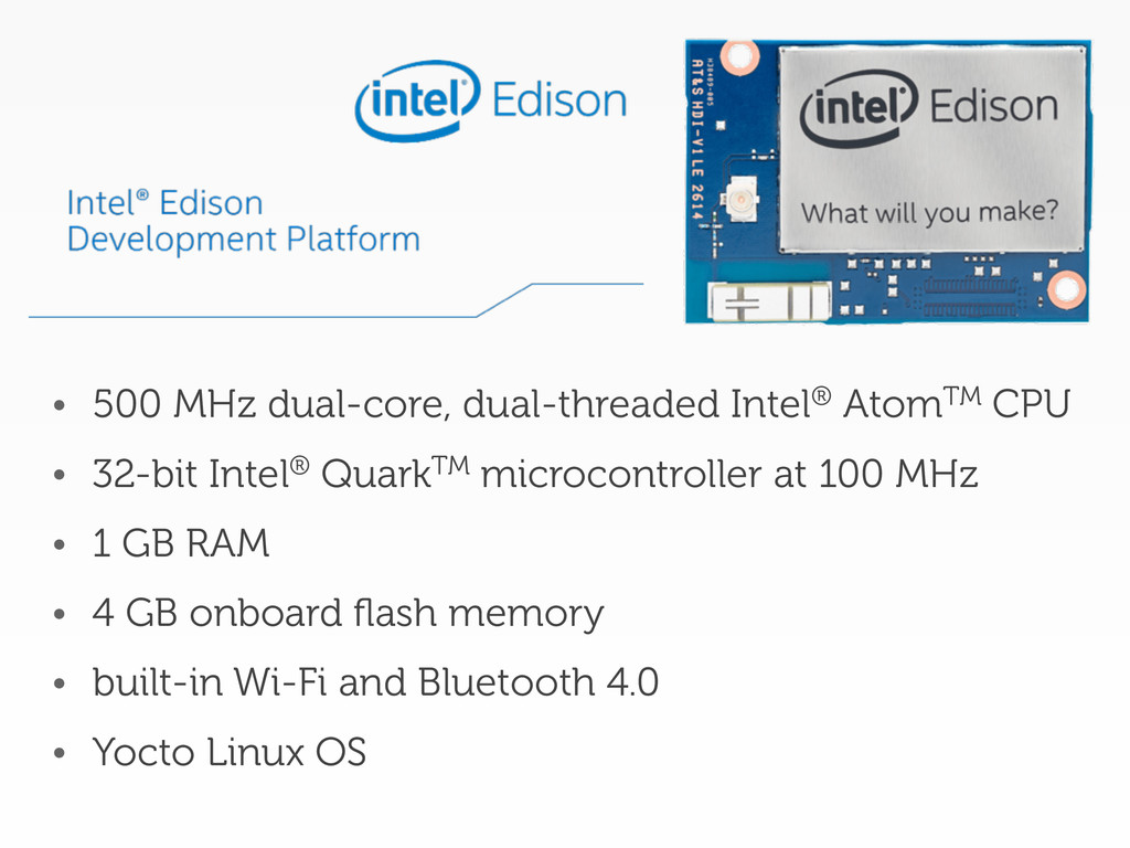 • 500 MHz dual-core, dual-threaded Intel® AtomT...