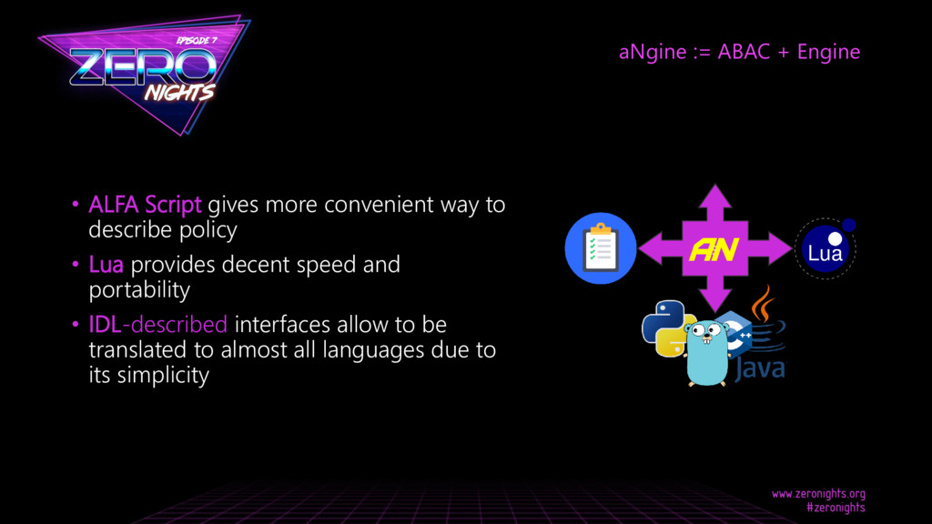 • ALFA Script gives more convenient way to desc...