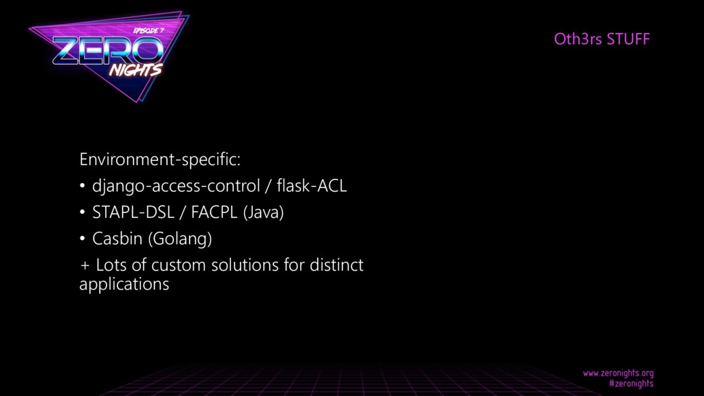 Environment-specific: • django-access-control /...