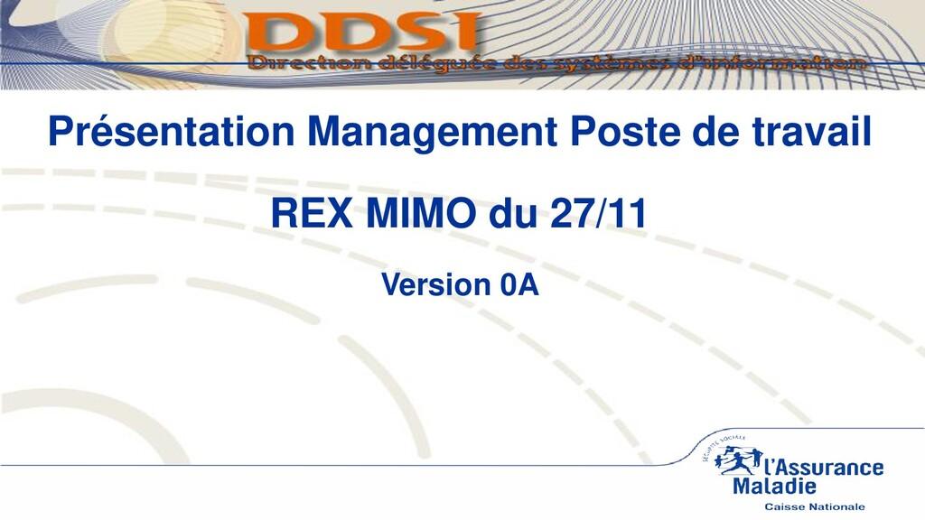CNAM / DDSI – MIMO REX Télédiffusion novembre 2...