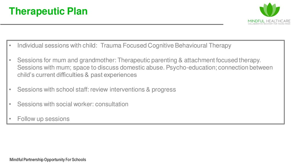 Mindful Partnership Opportunity For Schools • I...