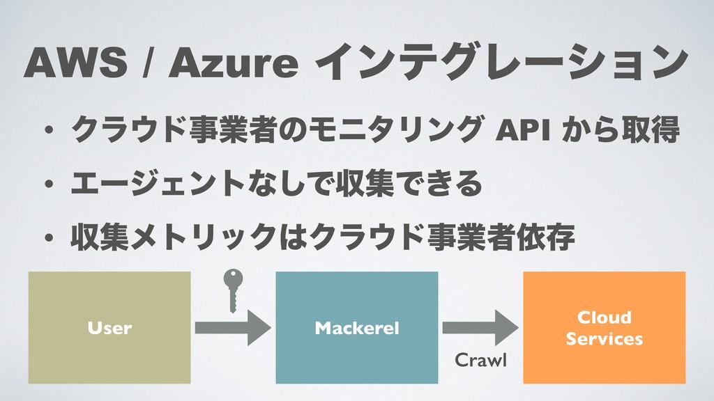 • ΫϥυۀऀͷϞχλϦϯά API ͔Βऔಘ • ΤʔδΣϯτͳ͠ͰऩूͰ͖Δ • ऩू...