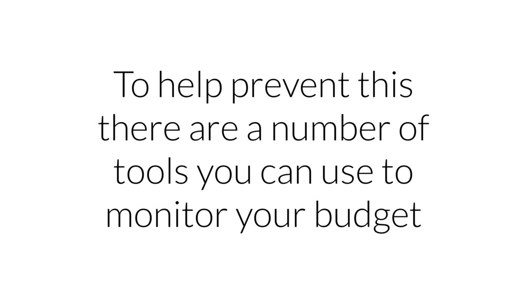 To help prevent this there are a number of tool...