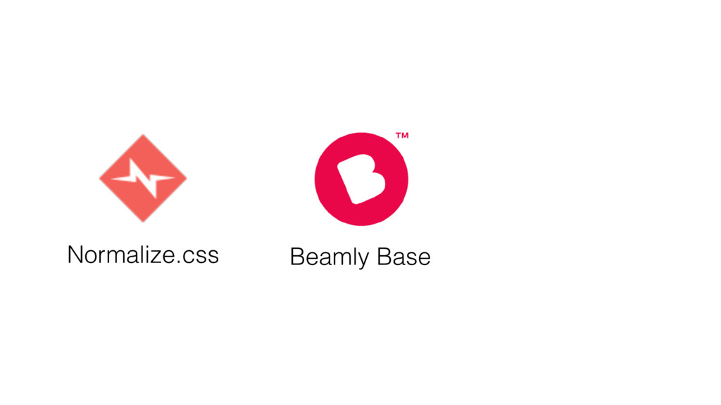 Normalize.css Beamly Base