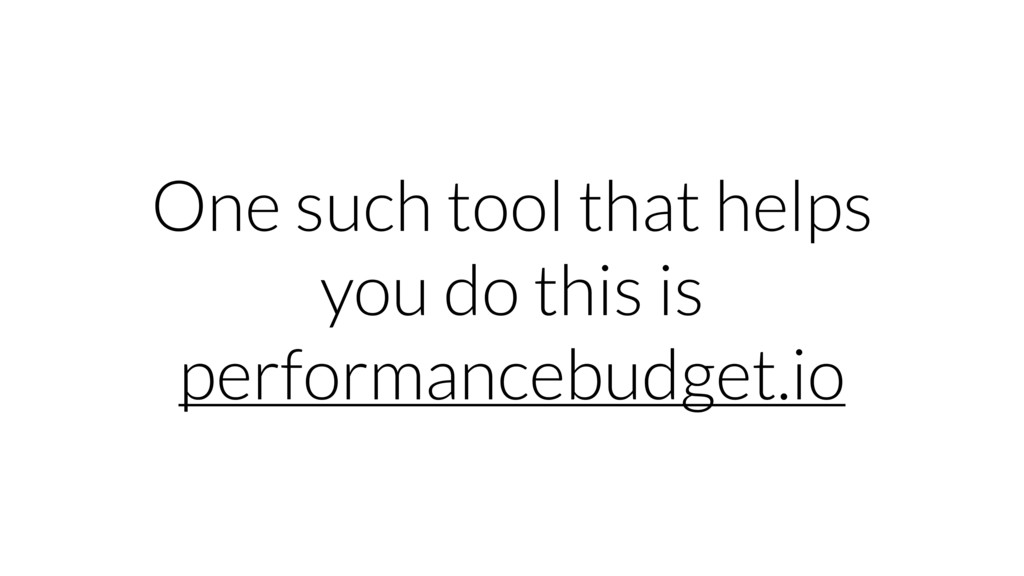 One such tool that helps you do this is perform...