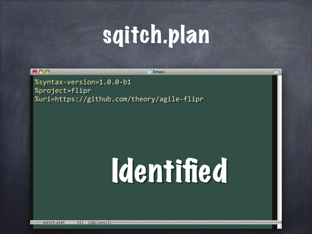 sqitch.plan sqitch.plan %syntax-­‐version=1.0.0...