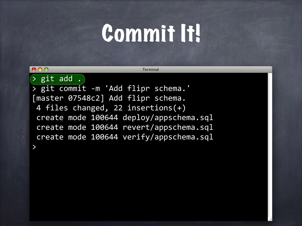 Commit It! > 	