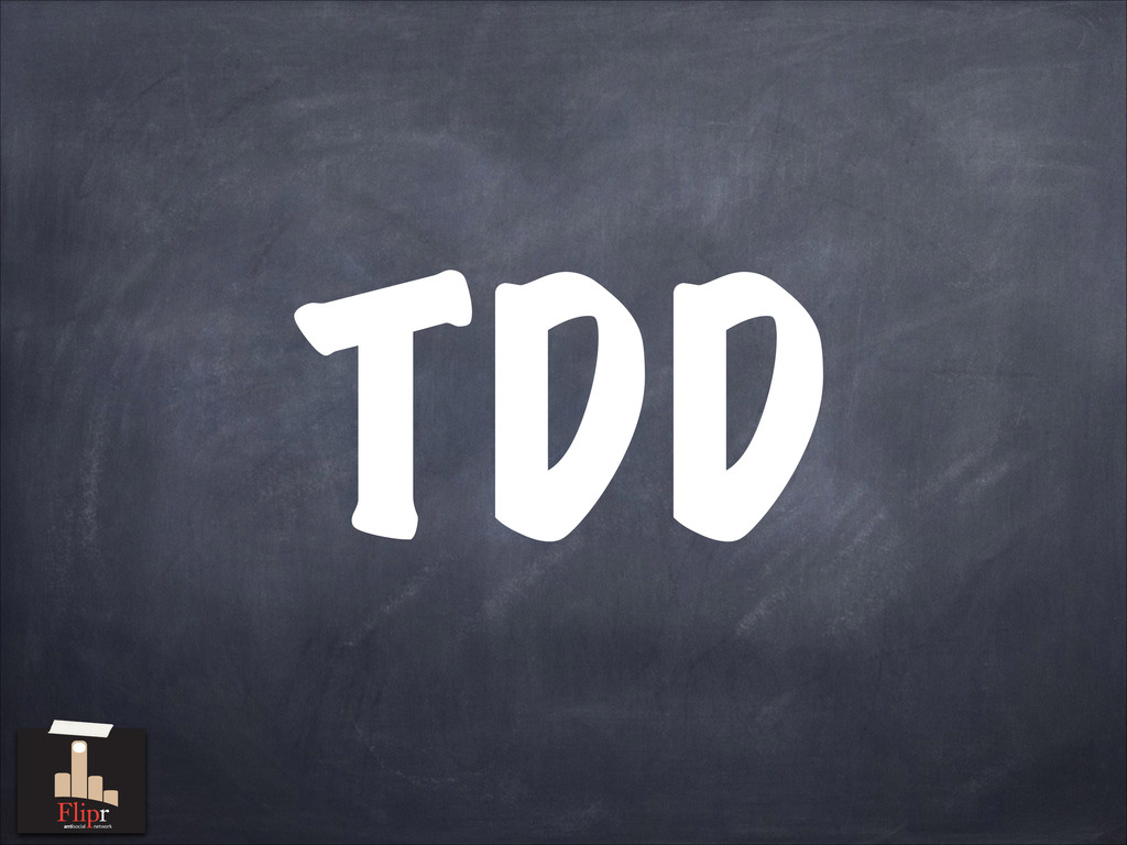 TDD antisocial network antisocial network