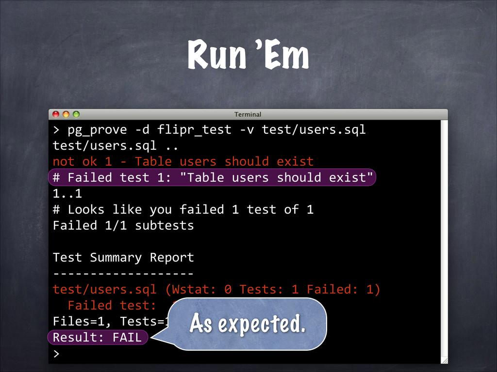 pg_prove -‐d flipr_test -‐v test/users.sql te...