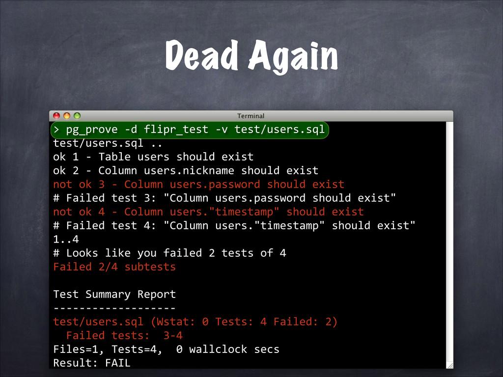 pg_prove -‐d flipr_test -‐v...