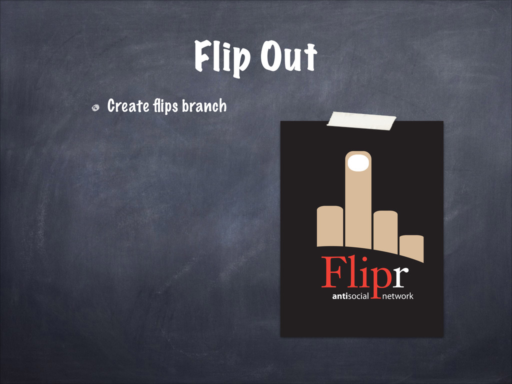 antisocial network Flip Out Create flips branch