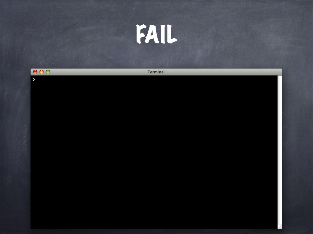FAIL >