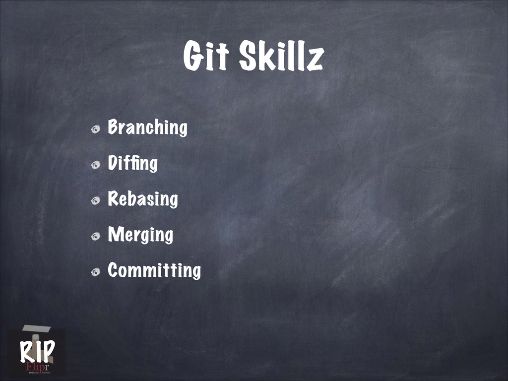 Git Skillz Branching Diffing Rebasing Merging Co...