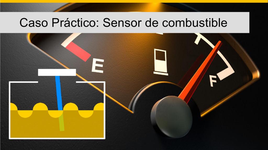 Caso Práctico: Sensor de combustible