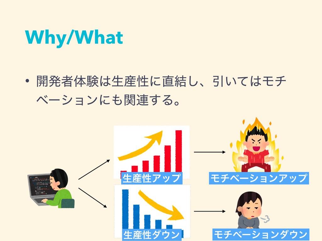 Why/What • ։ൃऀମݧੜੑʹ݁͠ɺҾ͍ͯϞν ϕʔγϣϯʹؔ࿈͢Δɻ ੜ...
