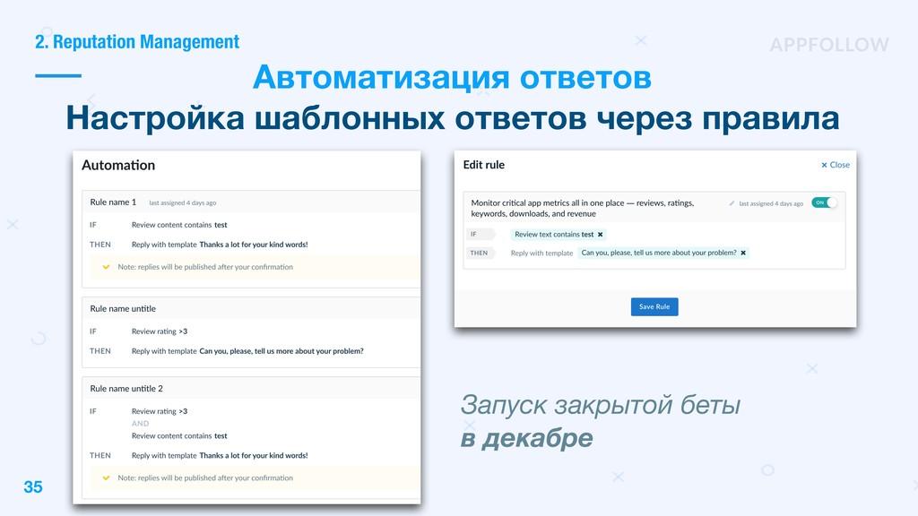 35 Автоматизация ответов Настройка шаблонных от...