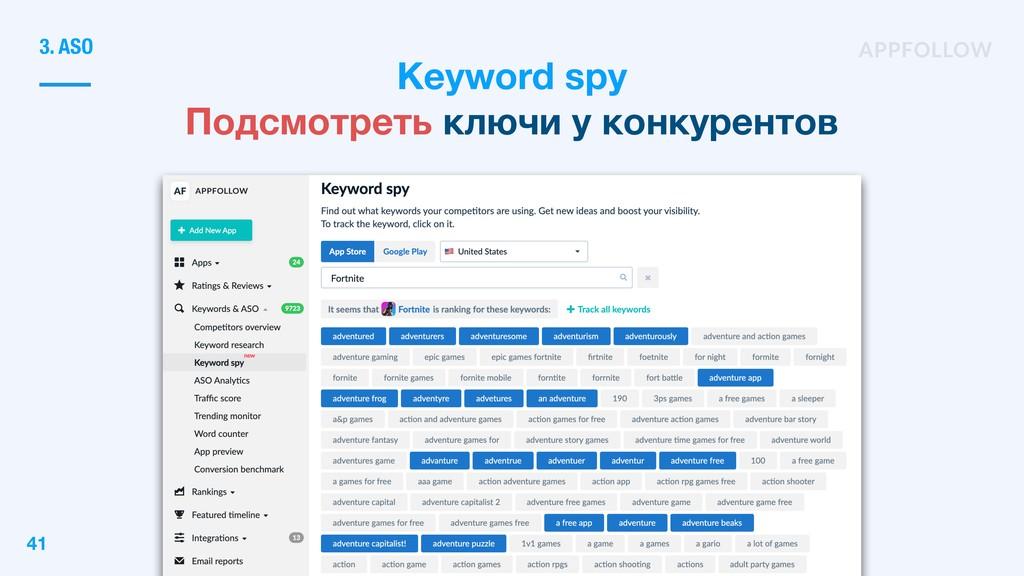 Keyword spy Подсмотреть ключи у конкурентов 3. ...