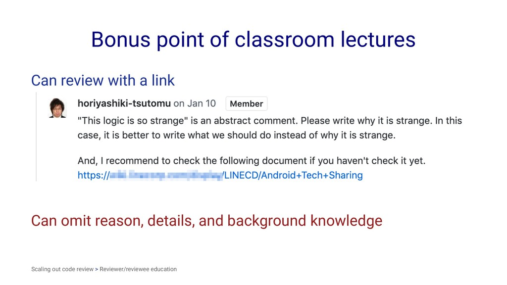Bonus point of classroom lectures Can review wi...