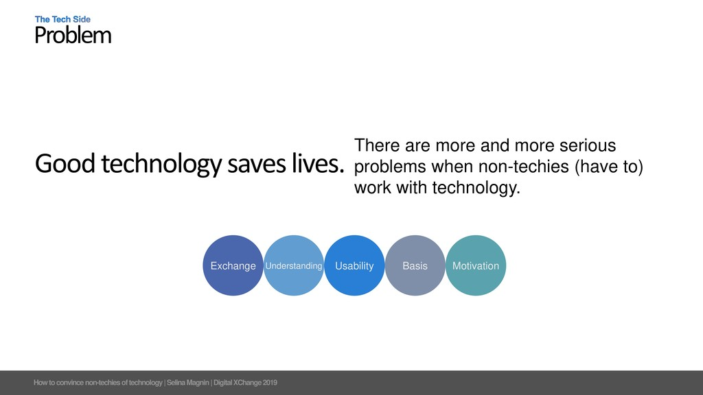 How to convince non-techies of technology   Sel...