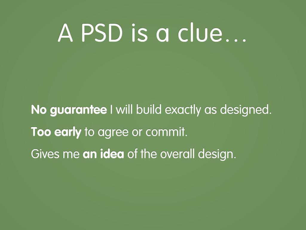 No guarantee I will build exactly as designed. ...