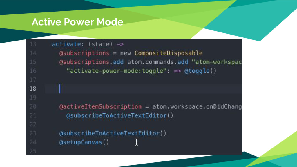 Active Power Mode