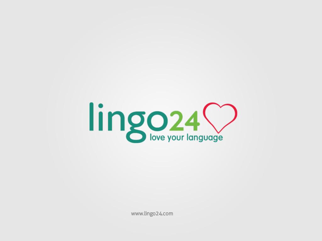 www.lingo24.com