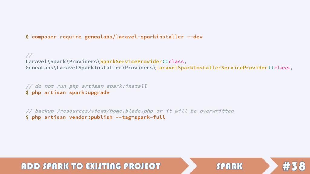 $ composer require genealabs/laravel-sparkinsta...