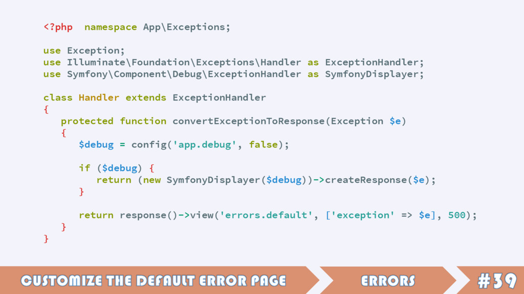 <?php namespace App\Exceptions; use Exception; ...
