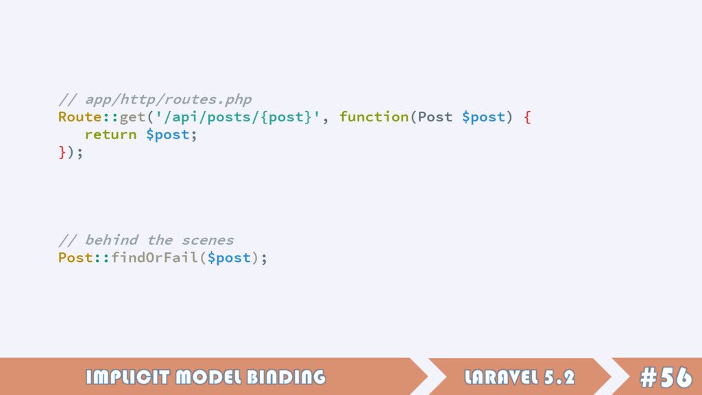 // app/http/routes.php Route::get('/api/posts/{...