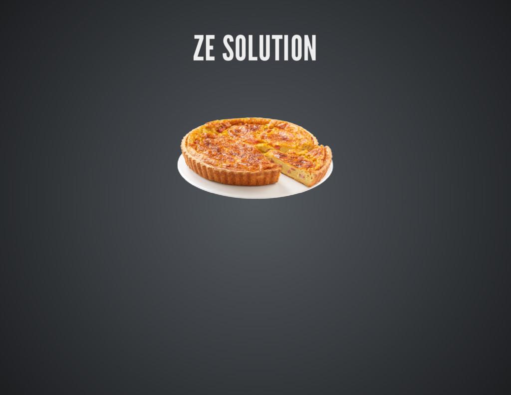 ZE SOLUTION