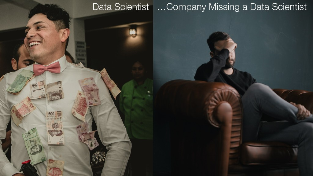 Data Scientist …Company Missing a Data Scientist