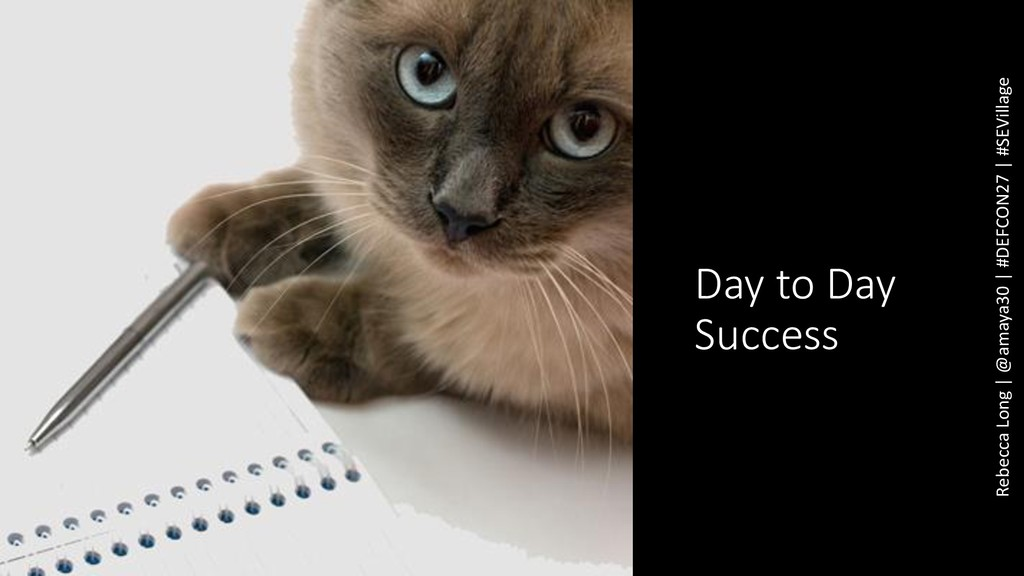 Day to Day Success Rebecca Long | @amaya30 | #D...