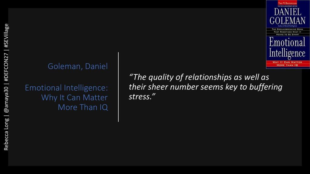 Goleman, Daniel Emotional Intelligence: Why It ...