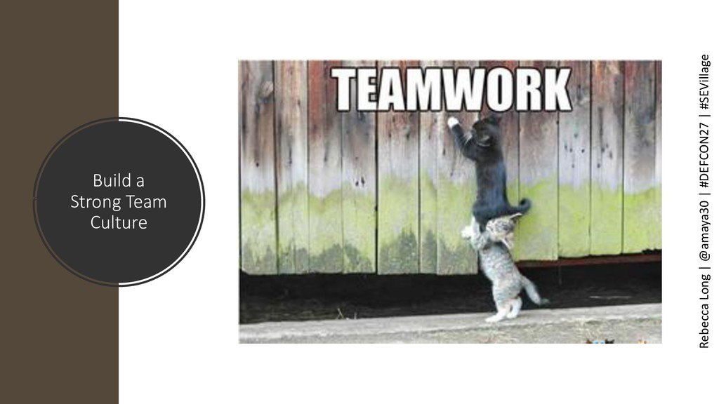 Build a Strong Team Culture Rebecca Long | @ama...