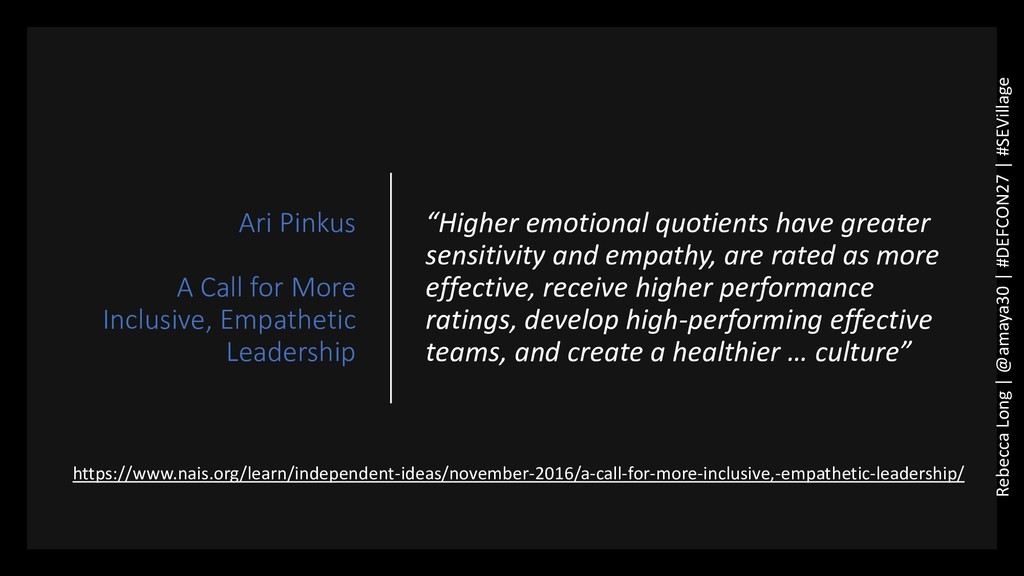 Ari Pinkus A Call for More Inclusive, Empatheti...