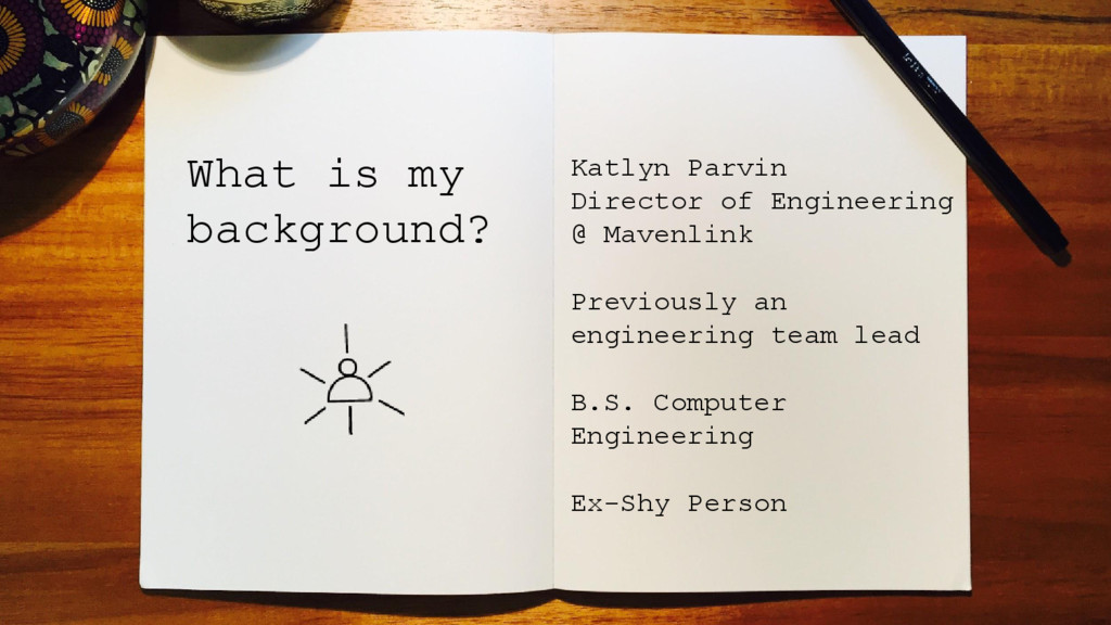 What is my background? Katlyn Parvin Director o...