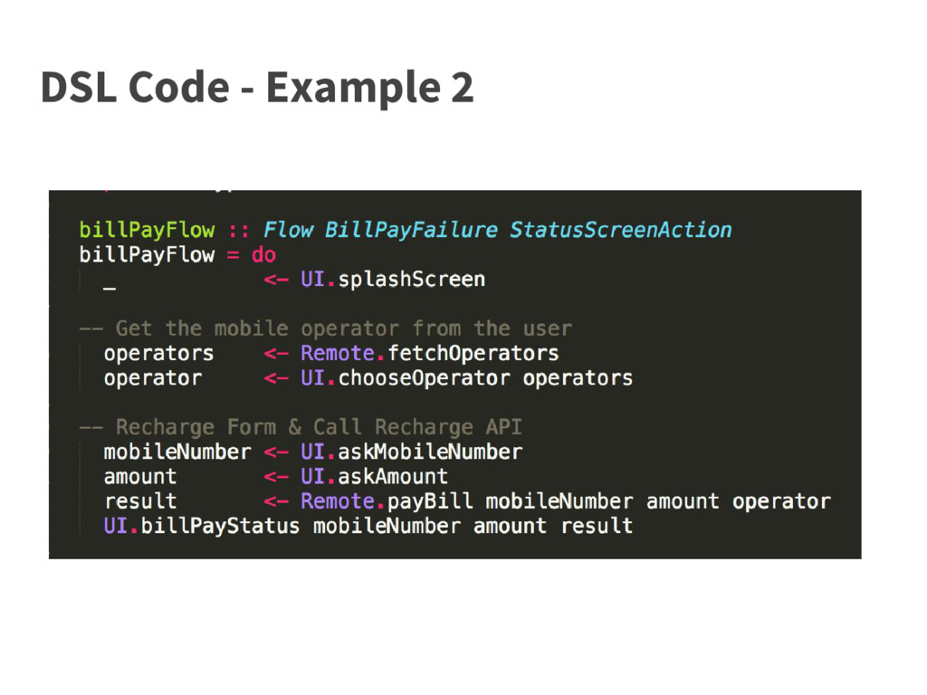 DSL Code - Example 2