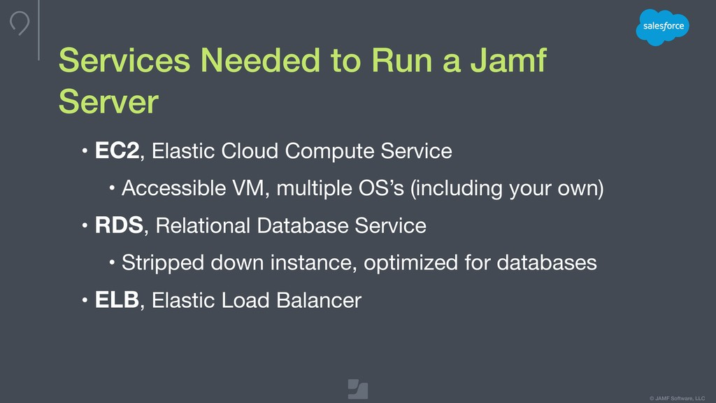 © JAMF Software, LLC Services Needed to Run a J...