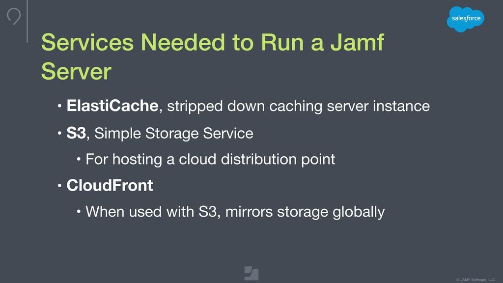 © JAMF Software, LLC • ElastiCache, stripped do...