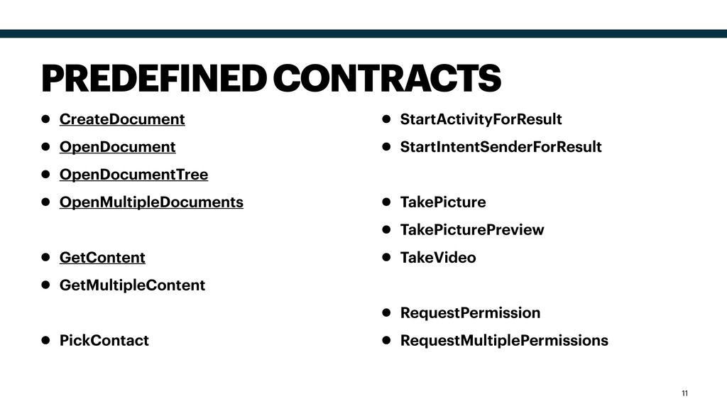• CreateDocument • OpenDocument • OpenDocumentT...