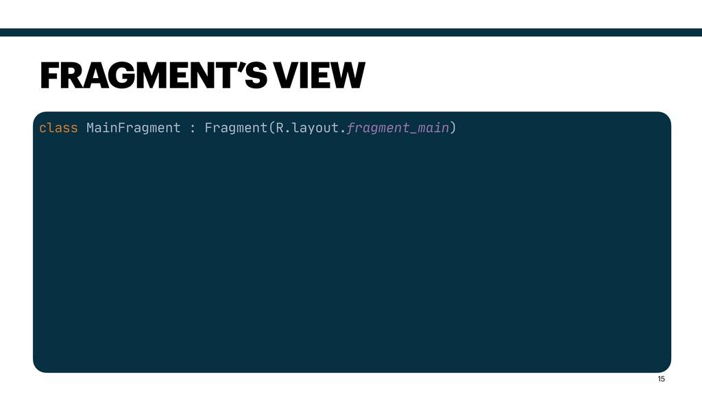 class MainFragment : Fragment(R.layout.fragment...