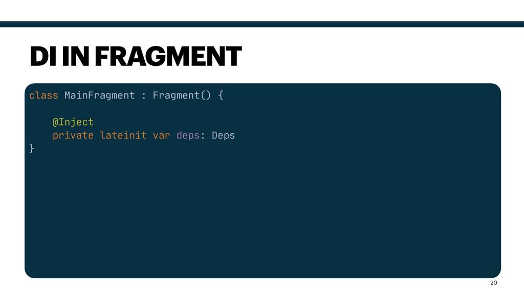 class MainFragment : Fragment() {  @Inject  pri...