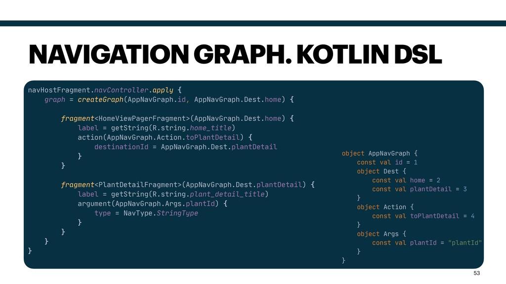 navHostFragment.navController.apply {  graph = ...