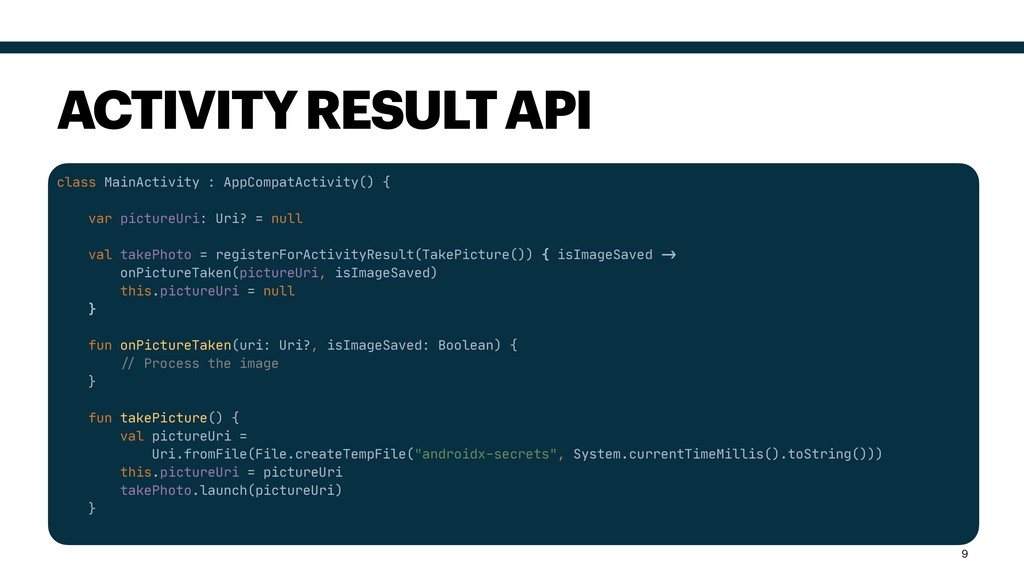 class MainActivity : AppCompatActivity() {  var...