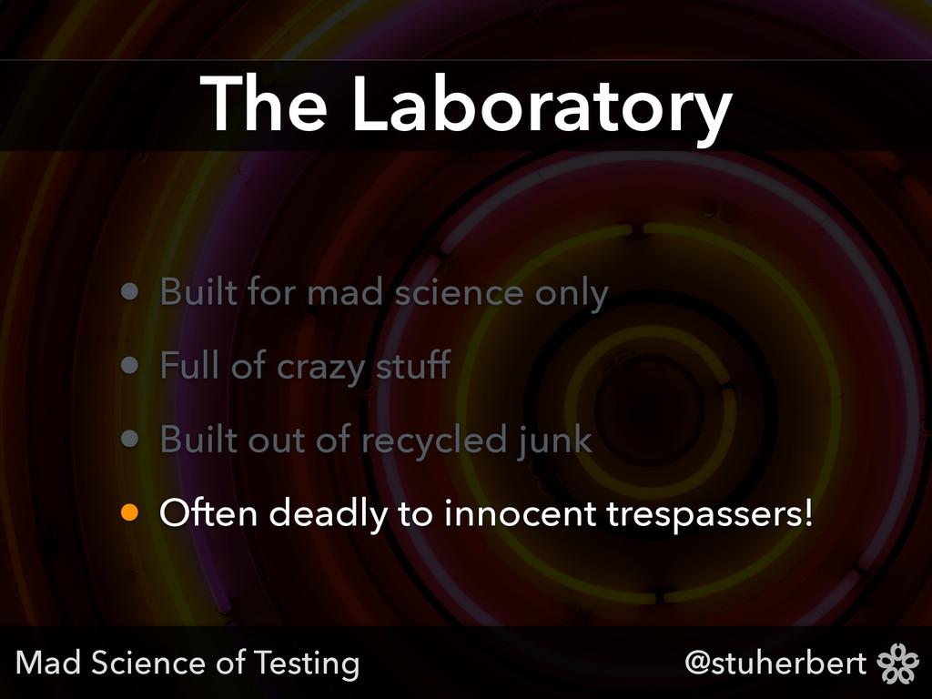 @stuherbert The Laboratory • Built for mad scie...