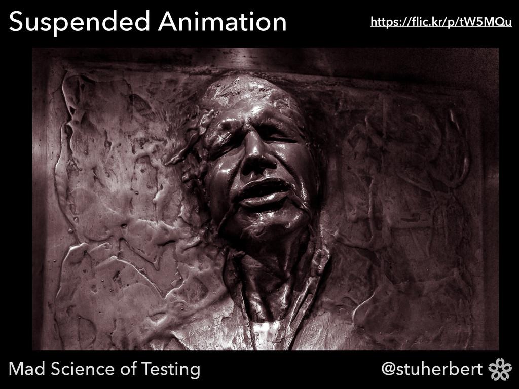 @stuherbert Suspended Animation https://flic.kr/...