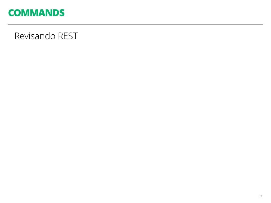 COMMANDS 31 Revisando REST
