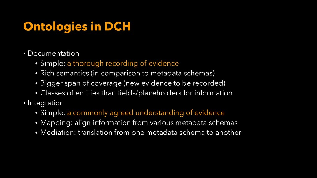Ontologies in DCH • Documentation • Simple: a t...