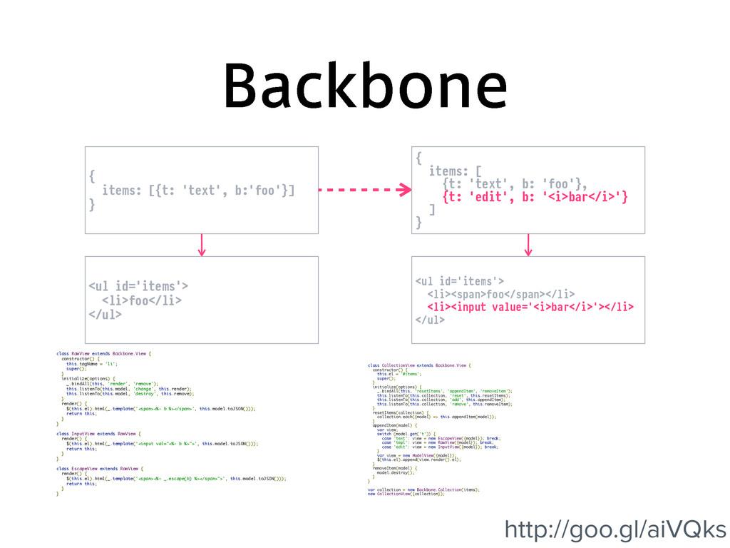 #BDLCPOF class RawView extends Backbone.View { ...