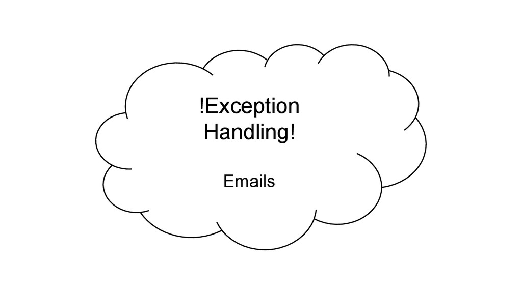 !Exception Handling! Emails